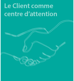 Le Client comme centre d'attention