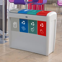 Nexus® Evolution Quad Recycling Bin