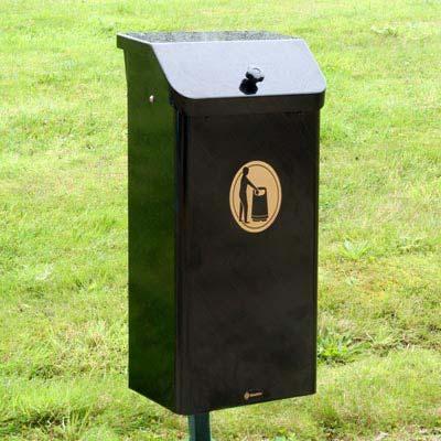 poubelle suspendue corbi 50 m tal. Black Bedroom Furniture Sets. Home Design Ideas